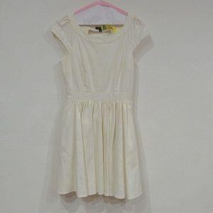 Rachel Zoe Chevron Cut Out Dress